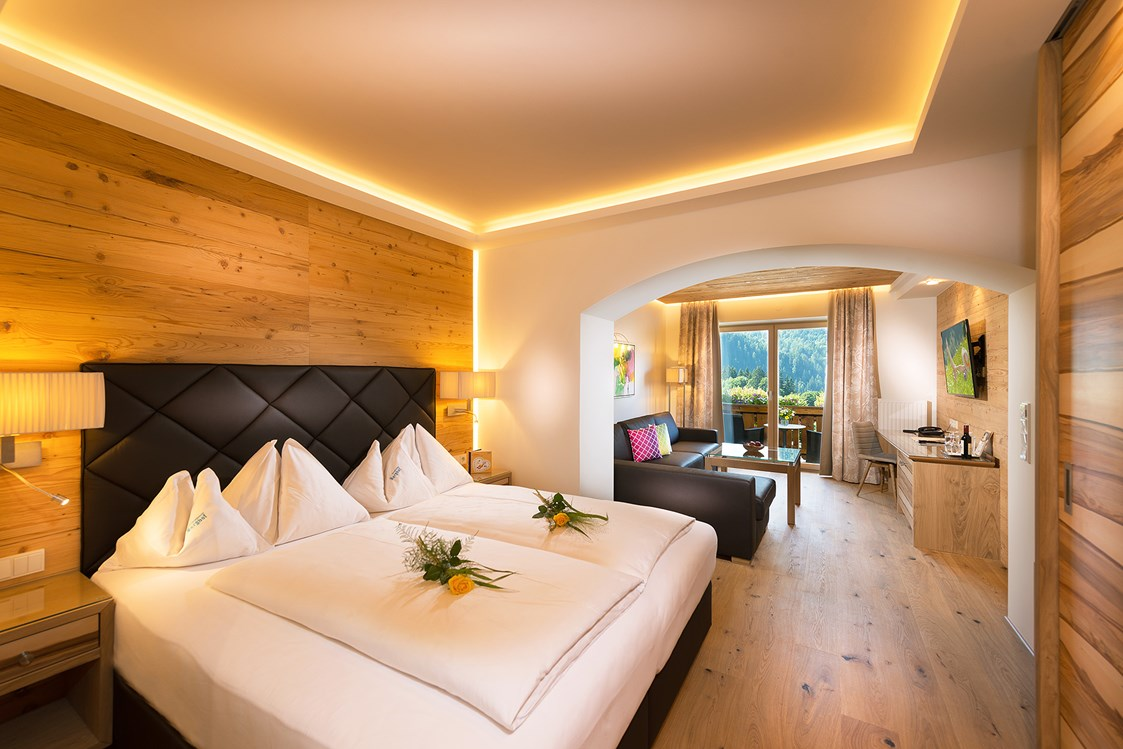Wellnesshotel: Junior Suite - Verwöhnhotel Berghof