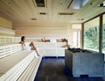Wellnesshotel: Eventsauna mit Panoramablick - Wellnesshotel Warther Hof