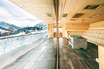 Wellnesshotel: Eventsauna im Winter - Wellnesshotel Warther Hof
