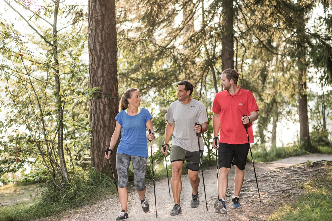 Wellnesshotel: Nordic Walking - ****s Hotel Ebner's Waldhof am See