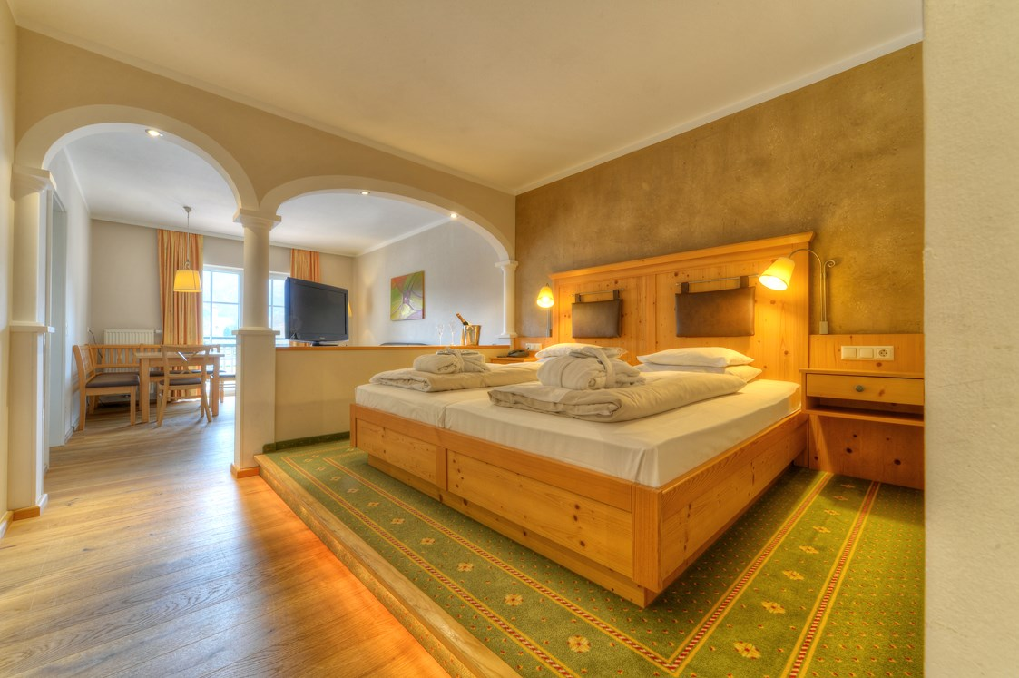 Wellnesshotel: Familien-Suite Sonnenbogen - POST Family Resort