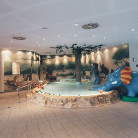 Wellnesshotel: Kinderbecken - POST Family Resort