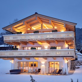 Wellnesshotel: Tennerhof Luxury Chalet in Kitzbuehel - Tennerhof Gourmet & Spa de Charme Hotel