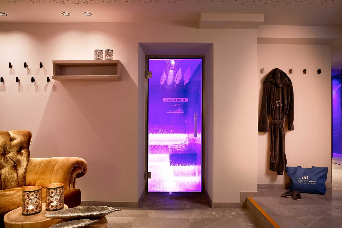 Wellnesshotel: Steam Bath Mountain Spa  - Adler Inn - ADLER INN Tyrol Mountain Resort