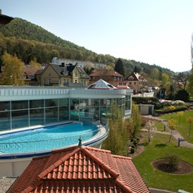 Wellnesshotel: Außenpool - Göbel's Hotel AquaVita