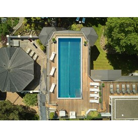 Wellnesshotel: Rooftop pool & sauna - adults only - Romantik ROEWERS Privathotel