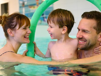 Familien Wellness Hotel Seeklause Fitnessangebote im Detail Aqua Fitness