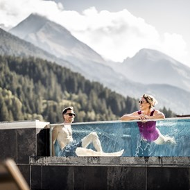 "Wellnesshotel: Infinity Pool ""Over the toP"" - Aktiv- & Wellnesshotel Bergfried"
